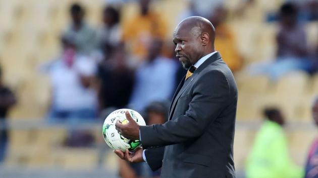 <p>Komphela hopes to end Kaizer Chiefs' bad luck by winning the Nedbank Cup</p>