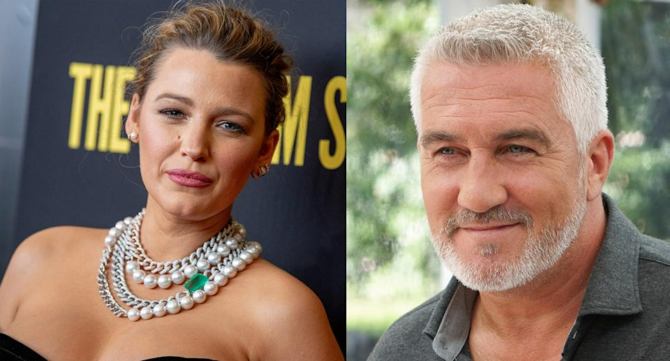 Blake Lively got the stamp of approval from Paul Hollywood. (Photo by Roy Rochlin/FilmMagic. Mark Bourdillon via Getty Images)