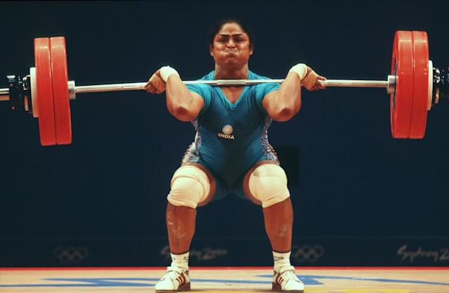 <p>Karnam Malleswari became the first Indian woman to win an Olympic medal. She bagged the bronze medal in the 69-kg weightlifting category </p>