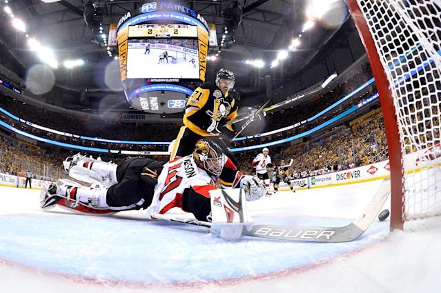 <p>Nobody expected the Senators to be the last Canadian team standing, let alone to come within a goal of reaching the Stanley Cup final. (Photo by Jamie Sabau/Getty Images) </p>