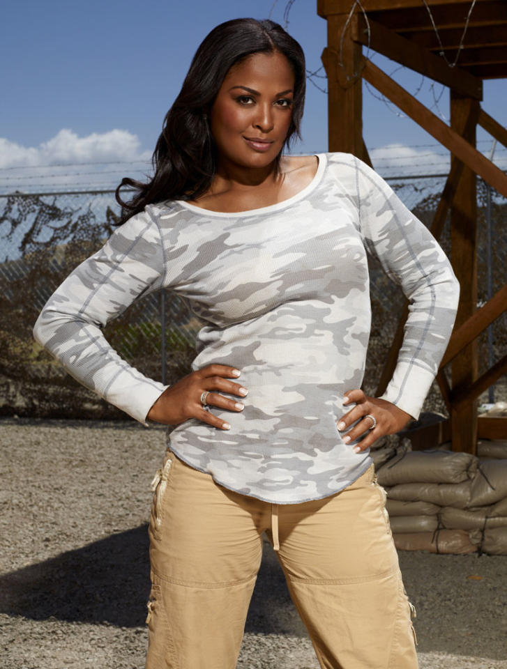 """Four-time undefeated world boxing champion Laila Ali competes on NBC's """"Stars Earn Stripes."""""""