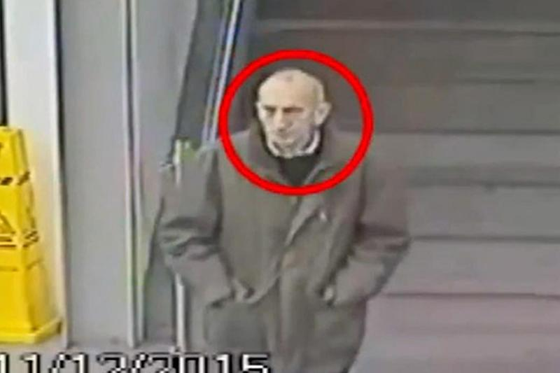 CCTV footage: David Lytton was seen on camera at Manchester Piccadilly train station: PA