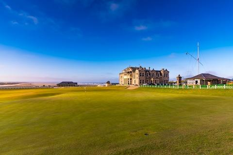 St Andrews, the home of golf - Credit: GETTY