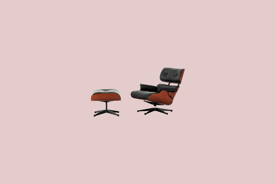 "<p>Midcentury modern furniture lovers, rejoice: We found the perfect mini kit for you. This tiny Eames-inspired lounge chair and ottoman set is composed of molded wood and faux leather that looks just like the real deal.</p> <p><strong><em>Shop Now:</em></strong> <em>Factory Direct Craft</em> <em>Dollhouse Miniature Eames Lounge Chair and Ottoman Set, $21.49</em><em>, </em><a href=""https://factorydirectcraft.com/catalog/products/1302_790_2332_2322-93608-dollhouse_miniature_eames_lounge_chair_and_ottoman_set.html"" rel=""nofollow noopener"" target=""_blank"" data-ylk=""slk:factorydirectcraft.com"" class=""link rapid-noclick-resp""><em>factorydirectcraft.com</em></a><em>. </em></p>"