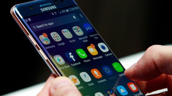 <b>Samsung</b> releases exploding phone with 100% less exploding