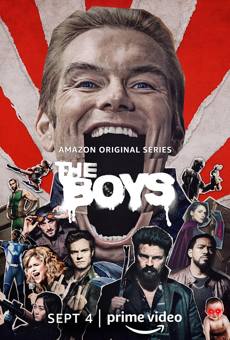 Key art for <i>The Boys</i> S2. (Amazon Prime Video)