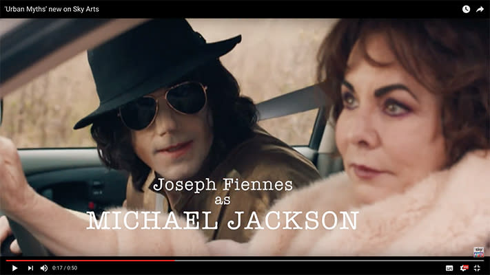 Joseph Fiennes plays Michael Jackson in first Urban Myths trailer