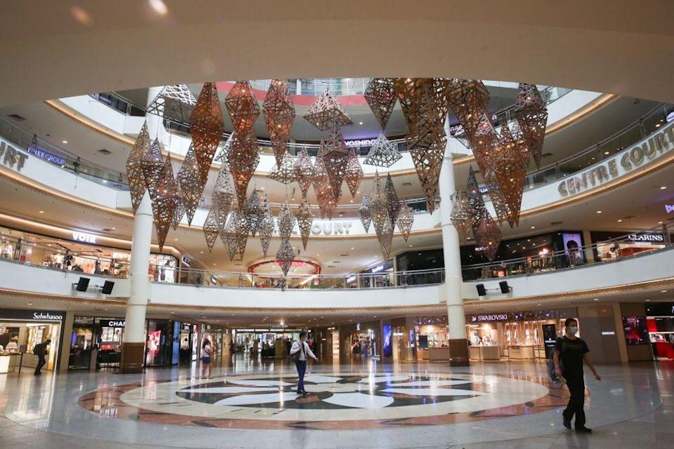 A general view of the Mid Valley Megamall in Kuala Lumpur. Retail workers who survived the first round of job cuts that followed the March to June lockdown are now unsure about their future, as shopkeepers continued to suffer from dips in sales and accumulating costs. — Picture by Choo Choy May