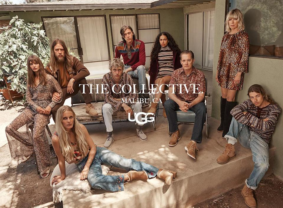 <p>Ugg tapped these nine talents for its fall campaign. (Photo: Courtesy of Frederic Auerbach/Ugg) </p>