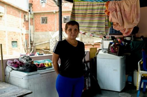 Venezuelan 50-year-old housewife Reina Rojas, receives a government food parcel every six weeks at subsidized prices, but it is too little to live on