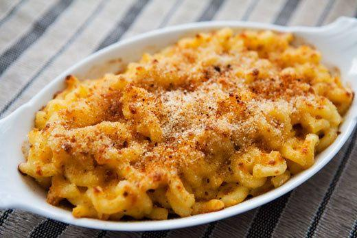"""<strong>Get the <a href=""""http://www.simplyrecipes.com/recipes/civil_war_macaroni_and_cheese/"""">Civil War Macaroni and Cheese recipe</a> from Simply Recipes</strong>"""