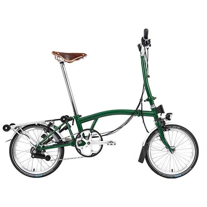 """<p><strong>brompton</strong></p><p>us.brompton.com</p><p><strong>$1304.01</strong></p><p><a href=""""https://us.brompton.com/bikes/brompton"""" rel=""""nofollow noopener"""" target=""""_blank"""" data-ylk=""""slk:BUY IT HERE"""" class=""""link rapid-noclick-resp"""">BUY IT HERE</a></p><p>No bike rack, no problem. With just a few quick maneuvers, this compact pile of metal transforms into a stunning commuter, allowing urban dads to pedal anywhere, anytime, without limits. It's a thoughtful Father's Day gift for the dad looking to stay active during his busy work schedule. </p><p><a href=""""https://www.menshealth.com/fitness/g36232574/mens-health-fitness-awards-2021/"""" rel=""""nofollow noopener"""" target=""""_blank"""" data-ylk=""""slk:Check Out More Men's Health Fitness Awards 2021 Winners"""" class=""""link rapid-noclick-resp"""">Check Out More Men's Health Fitness Awards 2021 Winners</a></p>"""