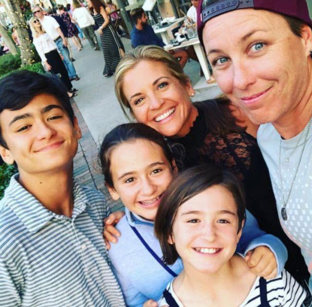 PHOTO: Abby Wambach poses for a photo with her wife Glennon Doyle and Doyle's three children. (Courtesy Abby Wambach)