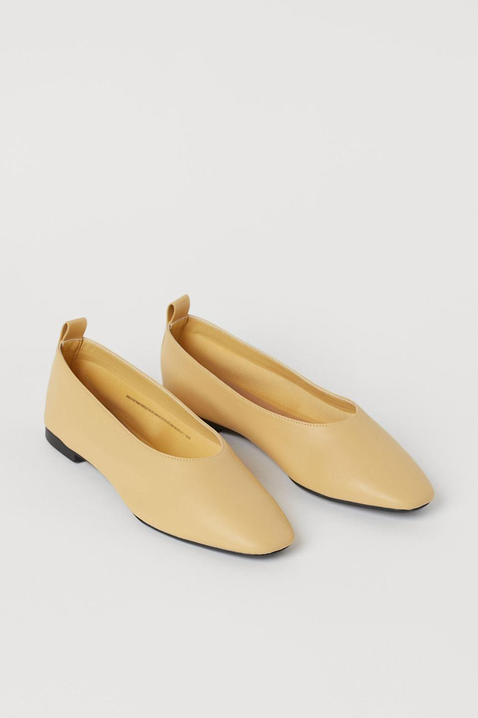 <p>These <span>Flats</span> ($25) are a great choice for summery looks.</p>