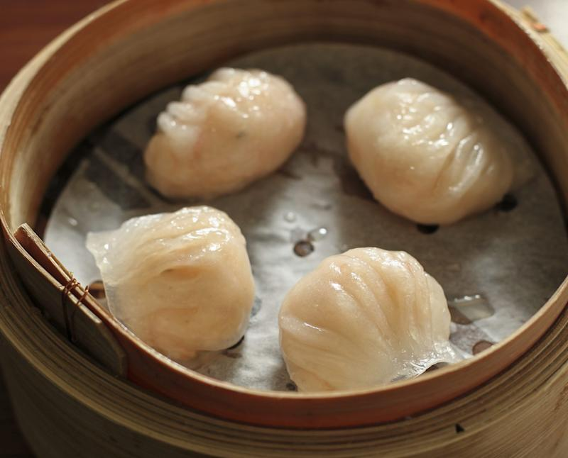 Fresh shrimp dumplings at Tim Ho Wan | South China Morning Post/Getty Images