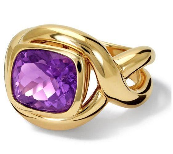 """<p><br> <a class=""""link rapid-noclick-resp"""" href=""""https://www.cassandragoad.com/jewellery/rings/severine-amethyst-ring"""" rel=""""nofollow noopener"""" target=""""_blank"""" data-ylk=""""slk:SHOP NOW"""">SHOP NOW</a></p><p>A bold cocktail ring is the perfect way to show off this one-of-a-kind purple amethyst. </p><p>Gold and amethyst ring, from £2,980, <a href=""""https://www.cassandragoad.com/"""" rel=""""nofollow noopener"""" target=""""_blank"""" data-ylk=""""slk:Cassandra Goad"""" class=""""link rapid-noclick-resp"""">Cassandra Goad</a>.</p>"""