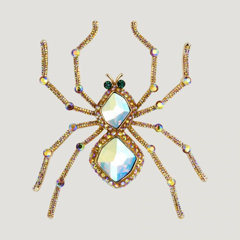 Butler and Wilson Couture Spider Brooch, £128, Shop it here (Butler and Wilson)
