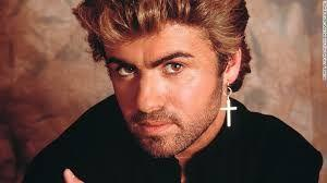 George Michael looks breath-taking in this close-range picture