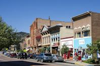 <p>Manitou Springs, Colorado gets it's name from mineral water springs located throughout the town. </p>