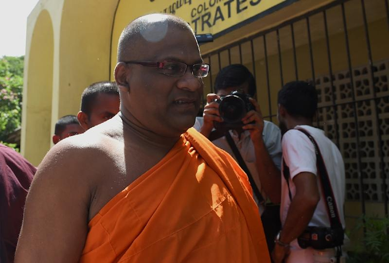 Buddhist monk Galagodaatte Gnanasara has been pardoned after serving less than two years of a six-year sentence