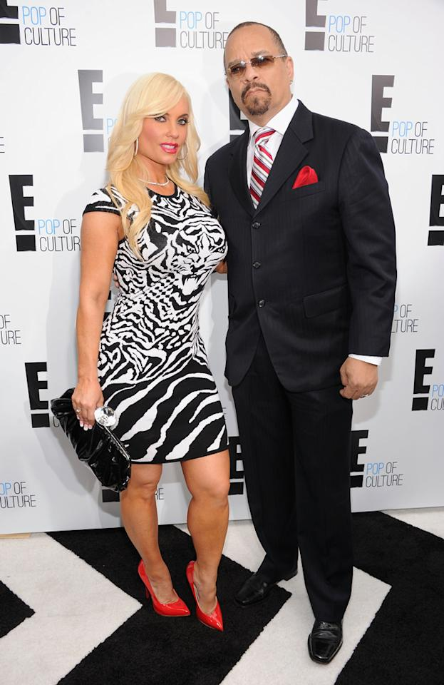"""Coco and Ice-T (""""<a href=""""http://tv.yahoo.com/ice-loves-coco/show/47467"""">Ice Loves Coco</a>"""") attend E!'s 2012 Upfront event at Gotham Hall on April 30, 2012 in New York City."""