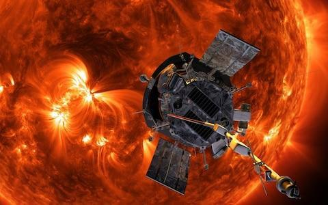 <span>The Parker Solar Probe will go closer to a star than any mission has ever gone </span> <span>Credit: Nasa </span>