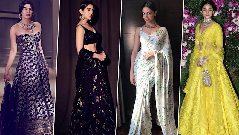 20 Years of Sabyasachi Mukherjee: From Deepika Padukone to Alia Bhatt, Taking a Look at Gorgeous Faces who Dazzled in his Stunning Creations - View Pics