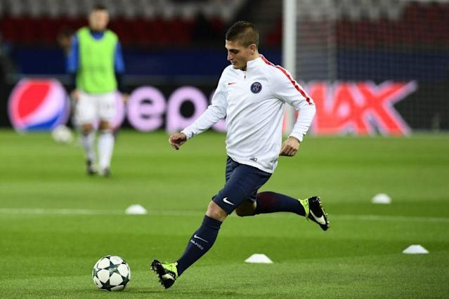<span>Marco Verratti drague la Juve (AFP).</span>