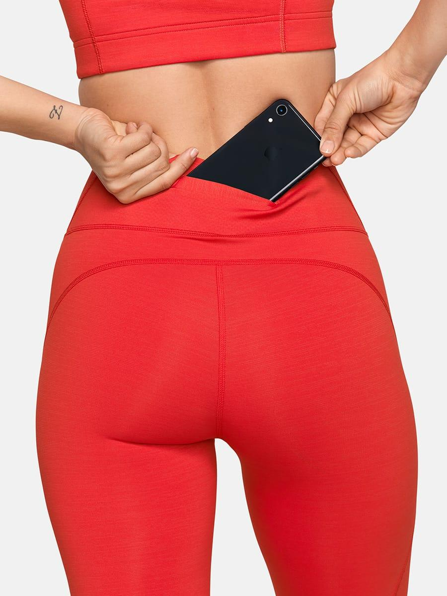 """<h3>Outdoor Voices TechSweat Leggings </h3><br><br>OV's popular TechSweat leggings are giving the infamous tiny-waistband slit a new, deeper-pocket name — the back pocket is built to securely hold both your keys <em>and</em> your phone.<br><br><strong>Outdoor Voices</strong> TechSweat 7/8 Leggings, $, available at <a href=""""https://go.skimresources.com/?id=30283X879131&url=https%3A%2F%2Fwww.outdoorvoices.com%2Fproducts%2Ftechsweat-7-8-legging"""" rel=""""nofollow noopener"""" target=""""_blank"""" data-ylk=""""slk:Outdoor Voices"""" class=""""link rapid-noclick-resp"""">Outdoor Voices</a>"""