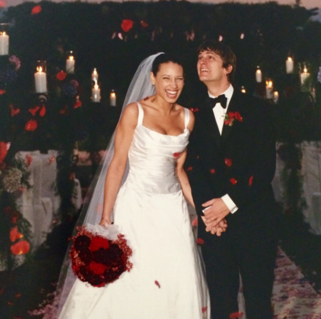 "<p>""On a day of so many sad endings I want to end it with one beautiful beginning,"" the Matchbox Twenty frontman captioned a slideshow of wedding snaps — featuring his bride, Marisol Maldonado Thomas — on Monday. ""Our wedding day 18 years ago today."" (Photo: <a href=""https://www.instagram.com/p/BZxclI4lj83/?taken-by=thisisrobthomas"" rel=""nofollow noopener"" target=""_blank"" data-ylk=""slk:Rob Thomas via Instagram"" class=""link rapid-noclick-resp"">Rob Thomas via Instagram</a>) </p>"
