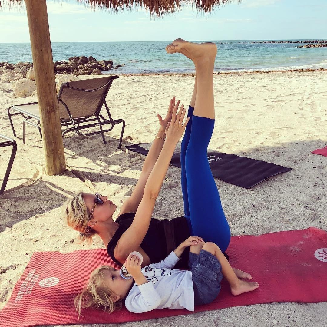 """<div class=""""caption""""> Married to the actor Archie Drury, <a href=""""https://www.wmagazine.com/topic/karolina-kurkova?mbid=synd_yahoo_rss"""" rel=""""nofollow noopener"""" target=""""_blank"""" data-ylk=""""slk:Karolina Kurkova"""" class=""""link rapid-noclick-resp"""">Karolina Kurkova</a> has two sons, Tobin Jack and Noah Lee, whom she gave birth to a few years after being named one of the highest-earning models in the world. </div> <cite class=""""credit"""">Courtesy of <a href=""""https://www.instagram.com/karolinakurkova/"""" rel=""""nofollow noopener"""" target=""""_blank"""" data-ylk=""""slk:@karolinakurkova"""" class=""""link rapid-noclick-resp"""">@karolinakurkova</a></cite>"""