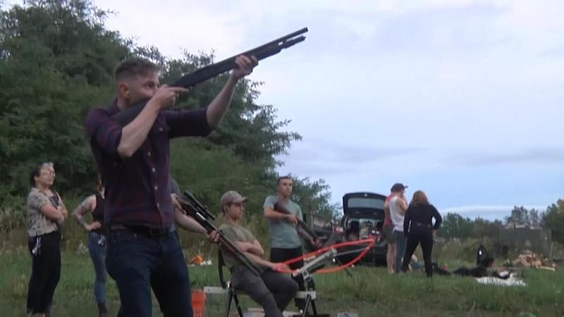 Jake Allen takes aim at a Trigger Warning meet up