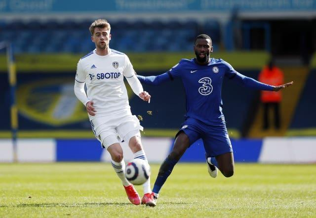 Chelsea's Toni Rudiger (right) in action
