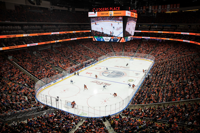 "Rogers Place in Edmonton, Canada, is set to host this season's Stanley Cup Final. <span class=""copyright"">(Codie McLachlan / Getty Images)</span>"