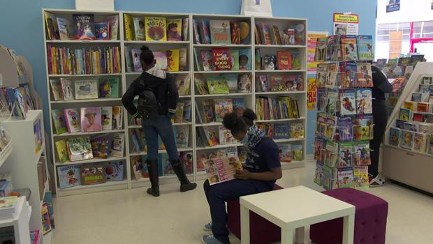 EyeSeeMe, an African-American bookstore in St. Louis.  / Credit: CBS News