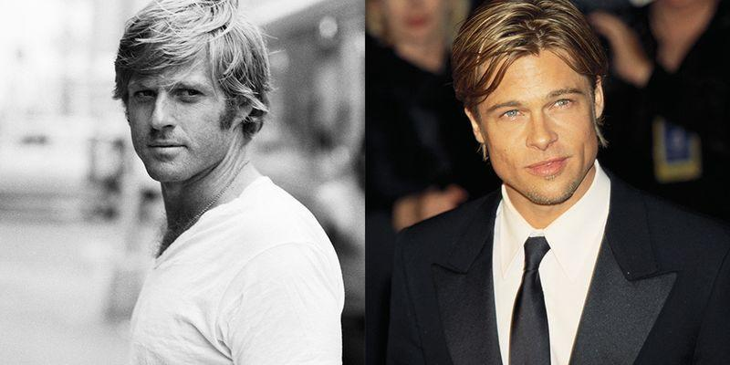 <p>From their floppy blonde hair to their chiseled jawlines, it's easy to see why Brad Pitt and Robert Redford were the heartthrobs of their respective generations.</p>