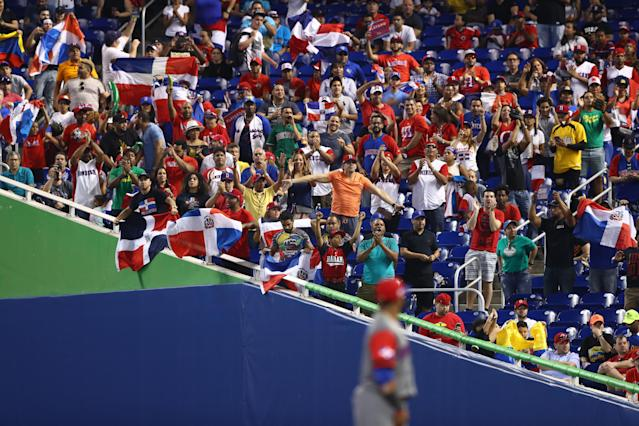 The Marlins will allow fans to bring musical instruments and flags into the park in 2019. (Photo by Alex Trautwig/WBCI/MLB Photos via Getty Images)