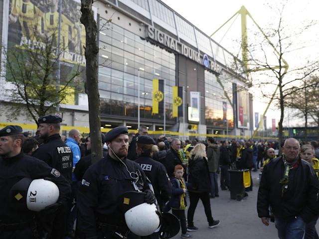 """Police confirmed there was """"no danger inside the stadium"""": Getty"""