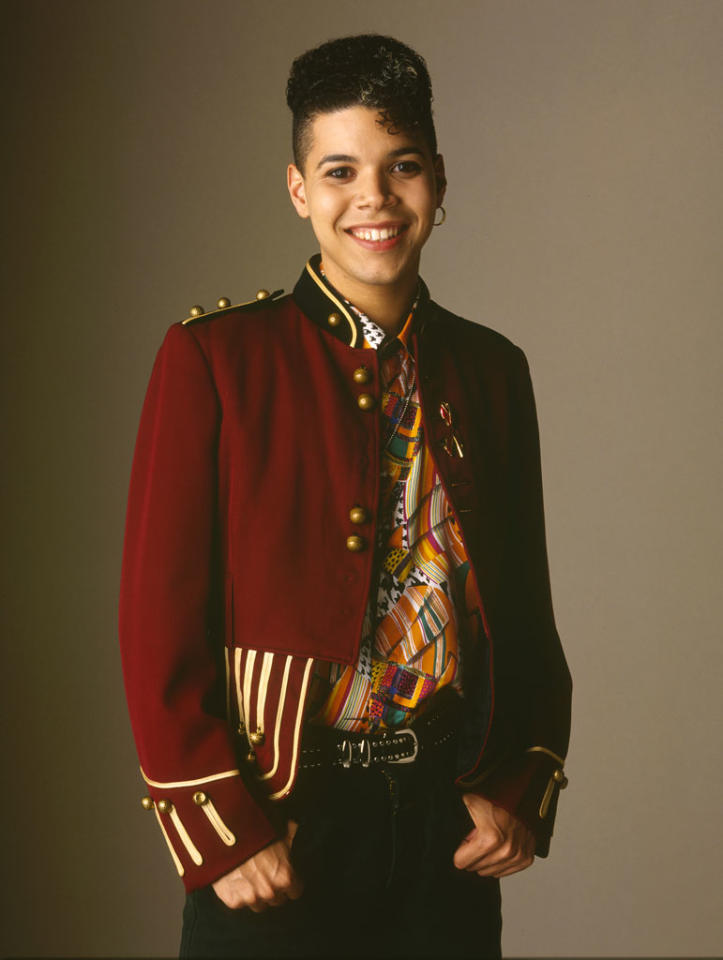 """<b>Rickie Vasquez (Wilson Cruz), """"My So-Called Life"""" (1994)<br></b><br> Long before Kurt Hummel walked the halls of William McKinley High School, there was Enrique """"Rickie"""" Vasquez. The 15-year-old sophomore was one of the first teen characters to truly express himself in primetime. Although Angela Chase initially <a href=""""http://www.rollingstone.com/culture/pictures/the-15-most-groundbreaking-gay-roles-on-television-20110125/rickie-vasquez-on-my-so-called-life-0645707"""">described Rickie as """"bi""""</a> to her parents, he ultimately declared himself to be """"gay"""" on the teen drama. <br><br>  He proudly marched to his own drummer, wore a hoop earring and eyeliner, and hung out in the girls' bathroom with Angela and their mutual BFF Rayanne Graff. Rickie never found romance in the short run of """"My So-Called Life,"""" but he once had a crush on Angela's dream man, Jordan Catalano (Jared Leto). Rickie never connected with his later crush either, heartthrob <a href=""""http://mysocalledlife.wikia.com/wiki/Cory_Helfrich"""">Cory Helfrich</a>.  Even though his two best gal pals were the sources of most of the big dramas in """"MSCL,"""" Rickie had issues of his own. He was forced to live with an abusive uncle until his mentor, Richard Katimski, a <a href=""""http://www.mscl.com/angelasworld/0316_resolutions.html"""">gay teacher</a>, finally took him in. <br><br>  <a href=""""http://gaylife.about.com/od/gaycelebrityprofiles/ig/Gay-Celebrity-Profiles/Wilson-Cruz.-6Zt.htm"""">Wilson Cruz</a>, the actor who played Rickie, could relate. At 19 years old, Cruz was forced to live on the streets. His father threw him out of the house when Cruz announced he was gay."""