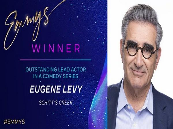 Eugene Levy wins 'Outstanding Lead Actor in a Comedy Series' for his portrayal of Johnny Rose in Netflix's 'Schitt's Creek' (Photo/ Television Academy Twitter)