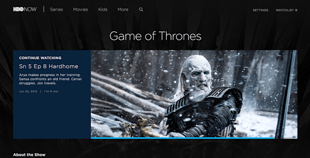 How to watch Game of Thrones online