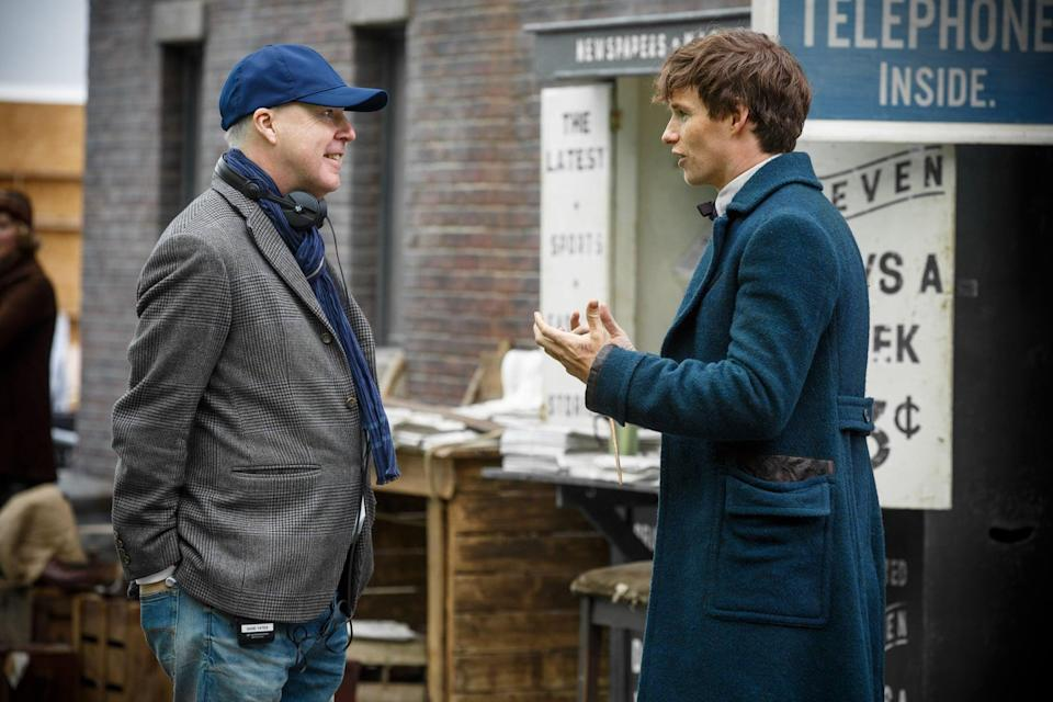 """<p>David Yates, who previously worked on the past two Fantastic Beasts movies and a handful of <a class=""""link rapid-noclick-resp"""" href=""""https://www.popsugar.com/Harry-Potter"""" rel=""""nofollow noopener"""" target=""""_blank"""" data-ylk=""""slk:Harry Potter"""">Harry Potter</a> films, <a href=""""http://ew.com/movies/2019/11/04/fantastic-beasts-3-2/"""" class=""""link rapid-noclick-resp"""" rel=""""nofollow noopener"""" target=""""_blank"""" data-ylk=""""slk:will return to direct the third film"""">will return to direct the third film</a>. </p>"""