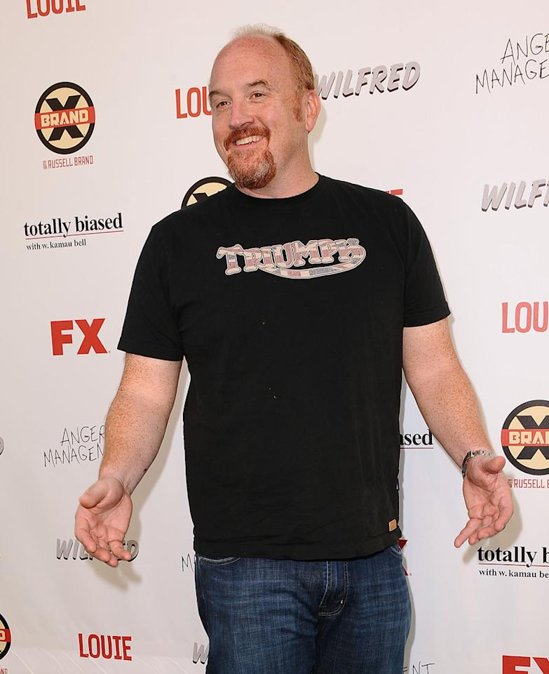 Louis C.K. attends the FX Summer Comedies Party at Lure on June 26, 2012 in Hollywood, California.