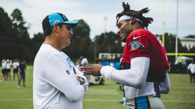 Disappointed but not discouraged, that's how Ron Rivera and the Panthers view the QB situation
