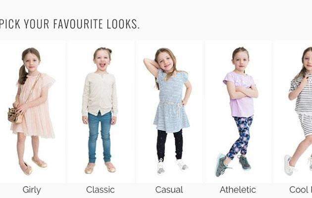Choose your child's personal style. Source: Pirates & Pineapples