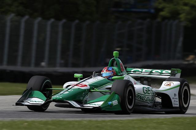 Herta takes maiden IndyCar pole at Road America