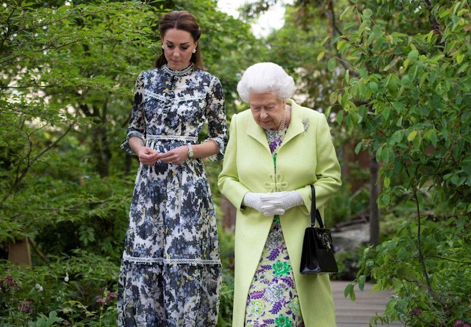 <p>No one should upstage the Queen — and her staff makes sure of it. Before any event she is attending, the rest of the royal family are prepped with the specifics of her outfit to avoid mishaps.</p>