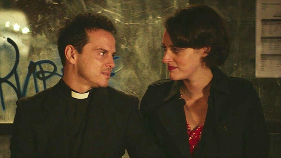 Andrew Scott and Phoebe Waller-Bridge in 'Fleabag'. (Credit: BBC)