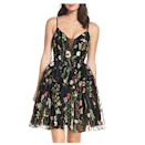 """The right cut and hem can make a dress look effortless, and this garden-inspired number is exactly that. The floral appliqués look like they're right out of a couture show—and the tulle skirt adds a flirty touch. $100, Amazon. <a href=""""https://www.amazon.com/LINDO-NOIVA-Spaghetti-Dresses-Backless/dp/B07TZ4GBNS/?th=1&psc=1"""" rel=""""nofollow noopener"""" target=""""_blank"""" data-ylk=""""slk:Get it now!"""" class=""""link rapid-noclick-resp"""">Get it now!</a>"""