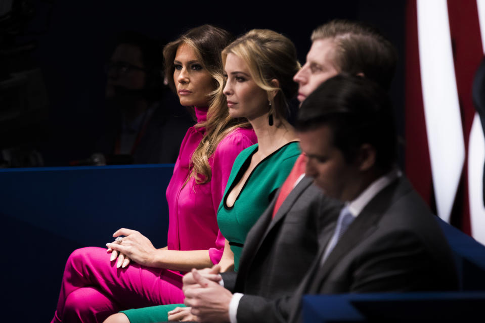 Ivanka Trump has taken up a more prominent role than Melania [Photo: Getty]